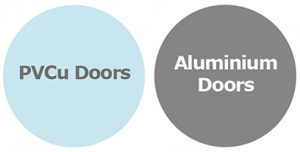 pvcu and aluminium doors 200px high