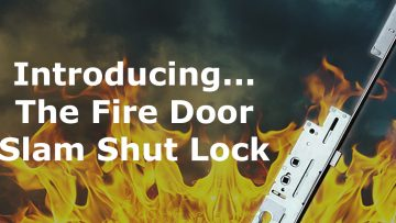Protect properties with our Fire Door Slam Shut Lock!