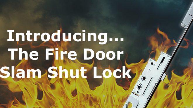 Protect properties with our Fire Door Slam Shut Lock!